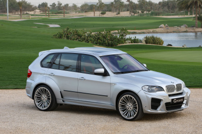 BMW X5 E70 (07-13) накладки G-Power Typhoon на крылья с расширением